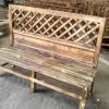 厂家定制 公园椅 户外休闲园林椅 木塑长条排椅 防腐小区座椅