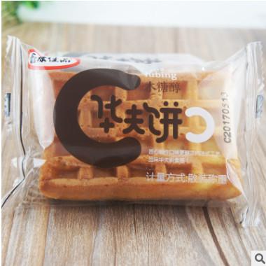 鑫康佳品木糖醇华夫饼糕点面包早餐点心零食小吃散装