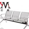 供应成都 不锈钢机场银行医院候车室等候椅 公共场所带皮垫连排座