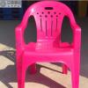 郑州立亚塑业 塑料椅沙滩椅 扶手靠背椅 户外大排档塑料桌椅