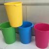 垃圾桶 清洁桶 创意厨房 客厅垃圾桶卫生间家用收纳桶塑料大中小