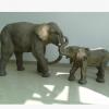 玻璃钢大象(母子)酒店,广场,马路,绿化均适用玻璃钢制品