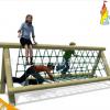 综合型户外生态游乐场 原木儿童攀爬绳网乐园定做