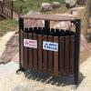 果皮箱 防腐木垃圾桶 园林果壳箱 厂家直销垃圾桶 定制果皮箱