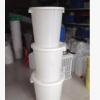 大容量塑料水桶90L带盖大白桶储物桶纳水圆桶郑州甘肃西安