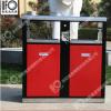 太阳能灯箱广告垃圾箱户外分类垃圾箱公园街道景区环卫果皮箱