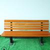 厂家直销防腐木休闲椅子 室外长椅 户外公园椅 铸铁公园椅子木塑