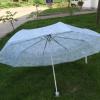 佳业厂家生产销售印花伞直杆伞 晴雨伞三折十骨加大款