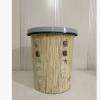 家用厨房卫生间卧压圈迷你创意印花圆形无盖垃圾桶厂家直销批发
