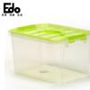 新品批发特价 高透明塑料手提整理箱 食品收纳箱家居储物收纳加厚