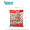 正品2500克袋装透明超人千纸鹤糖果综合果味水果许愿糖硬糖