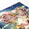 圣诞节糖果散装拐杖棒棒糖散装彩虹红白红绿白混合口味活动用糖