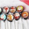 圣诞节糖创意星空星球手工棒棒糖男女朋友节日礼物圣诞老人棒棒糖