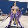 王者荣耀玻璃钢雕塑 紫霞仙子树脂彩绘游戏人物雕像 卡通动漫摆件
