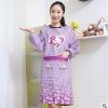 韩版长袖厨房做饭家务家居工作服防脏防污防油防尘围裙反穿衣