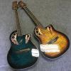 葡萄孔民谣吉他单板个性电木吉他41寸电声龟背