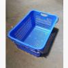 生产销售海南海口610*430*310mm佛手瓜专用塑料框 5斤5加厚白色