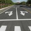 吉林四平市专业道路划线施工 停车场车位划线路面标志警示划线工