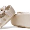痴痴猫 0-1岁爱心绣花学步鞋蝴蝶结宝宝鞋室内一件代发软底婴儿鞋