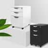 厂家直销批发钢制办公活动柜 三抽收纳移动柜 储物挂劳夹柜子