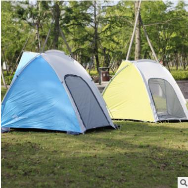 厂家清仓处理户外用品 多用帐篷一室单层钓鱼蓬 休闲露营一件代发
