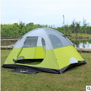 户外野营公园防水稳固透气帐篷 美国蓬2至8人多款可选 可定制批发