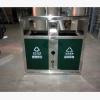 不锈钢垃圾桶 冲孔收纳桶户外分类大号市政物业小区垃圾桶