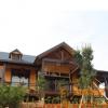 龙珠 青龙山桔子红农庄 休闲度假木屋木别墅建造 野外农家乐
