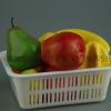 熟胶PP不碎蔬菜水果菜框娄收纳篮子武汉美丰塑料筛子长方形周转筐