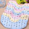 美好宝贝 母婴用品婴幼儿口水巾 纯棉动物图案八角巾MH8001