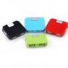 HUB集线器 四方USB分线器 方形USB分线器 383分线器 383集线器