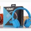 【卡奥】KAAO耳机厂家批发头戴式手机插线电脑耳机创意彩色耳机