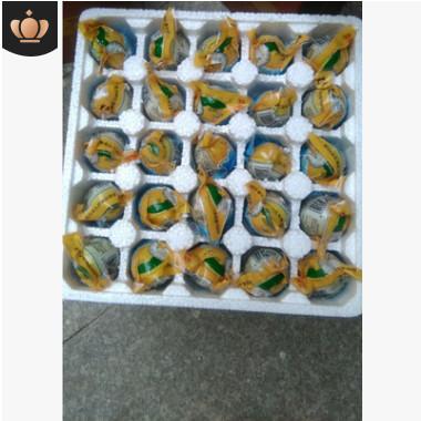 广西钦州老余叔海鸭蛋北部湾咸熟蛋50枚泡沫盒装特价包邮
